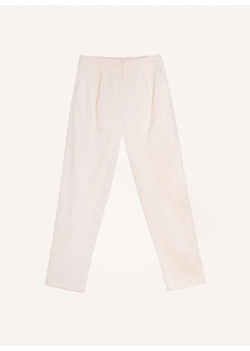 FRNCH Frnch - Pantalon Paolina Blanc