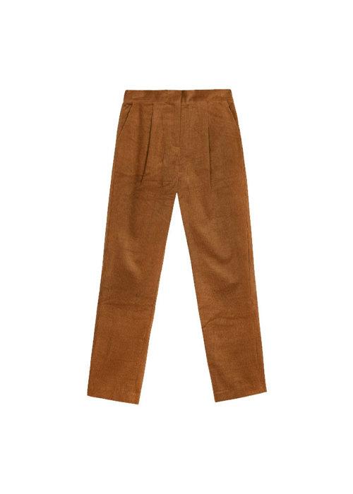 FRNCH Frnch - Pantalon Paolina Ocre