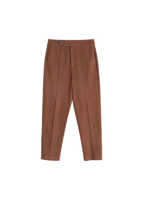 FRNCH Frnch - Pantalon Pasquina Marron Glace
