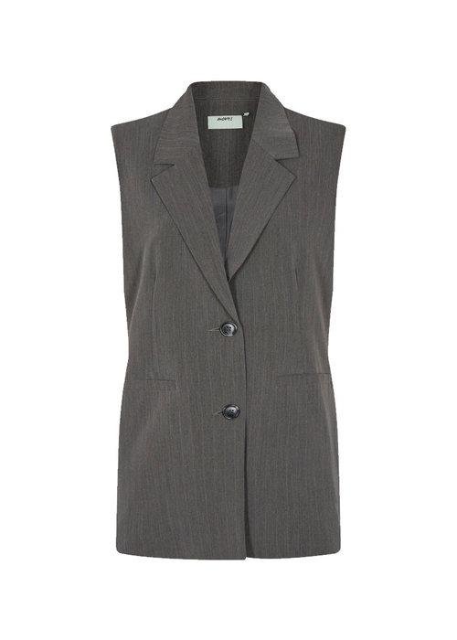 Moves by Minimum - Salise Waistcoat Grey Melange