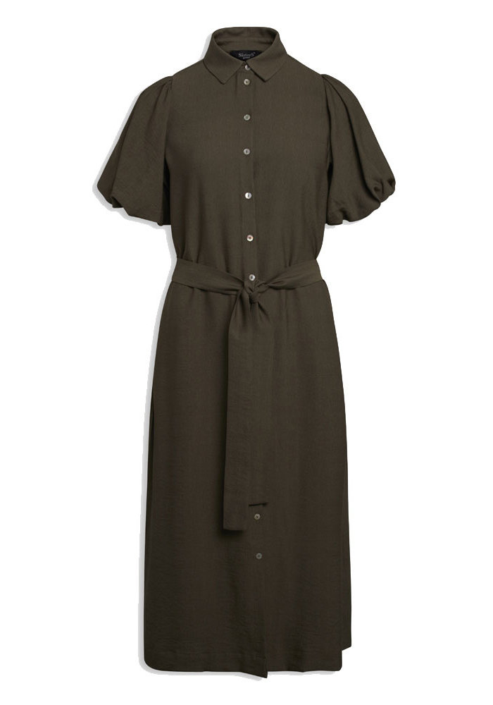 Sisters Point - Mena Dress Khaki