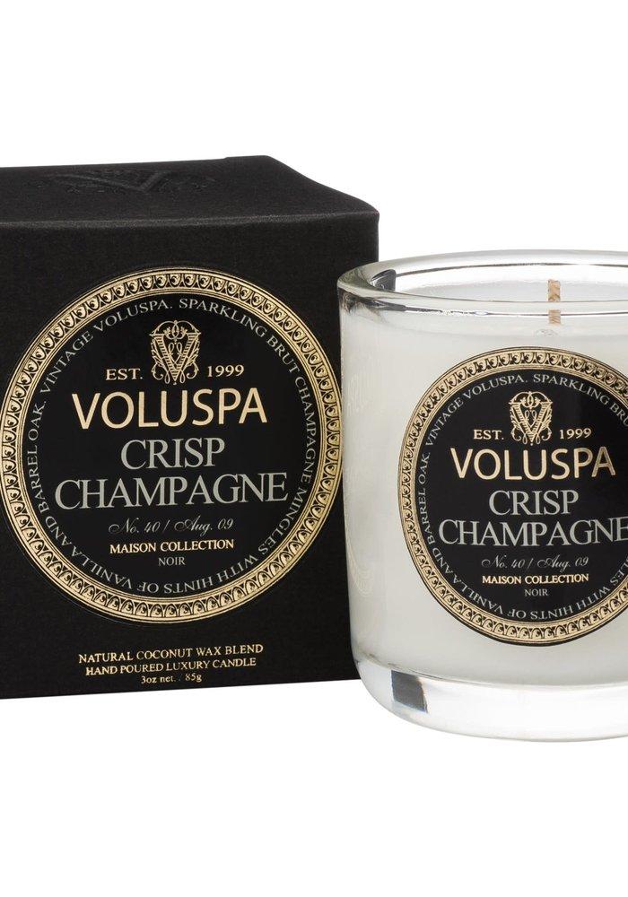 Voluspa - Crisp Champagne Classic Maison Boxed Votive