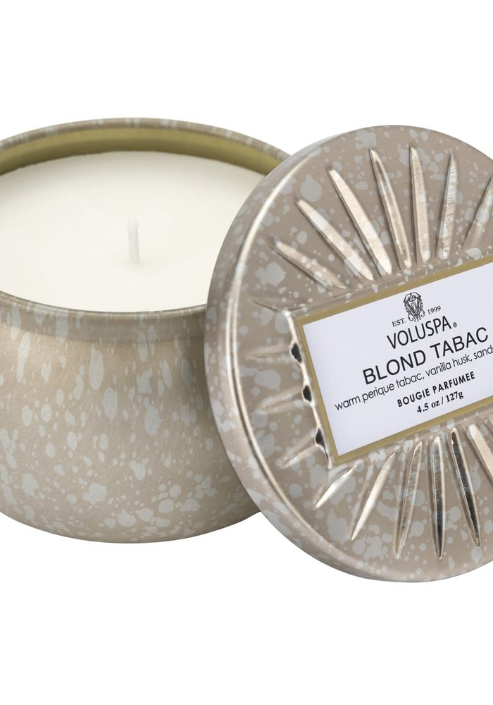 Voluspa - Blond Tabac  Mini Decorative Tin