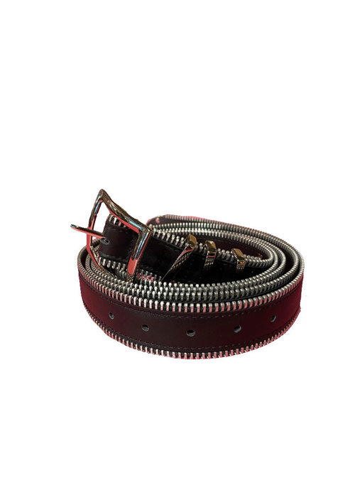 Elvy Zipper Belt Women