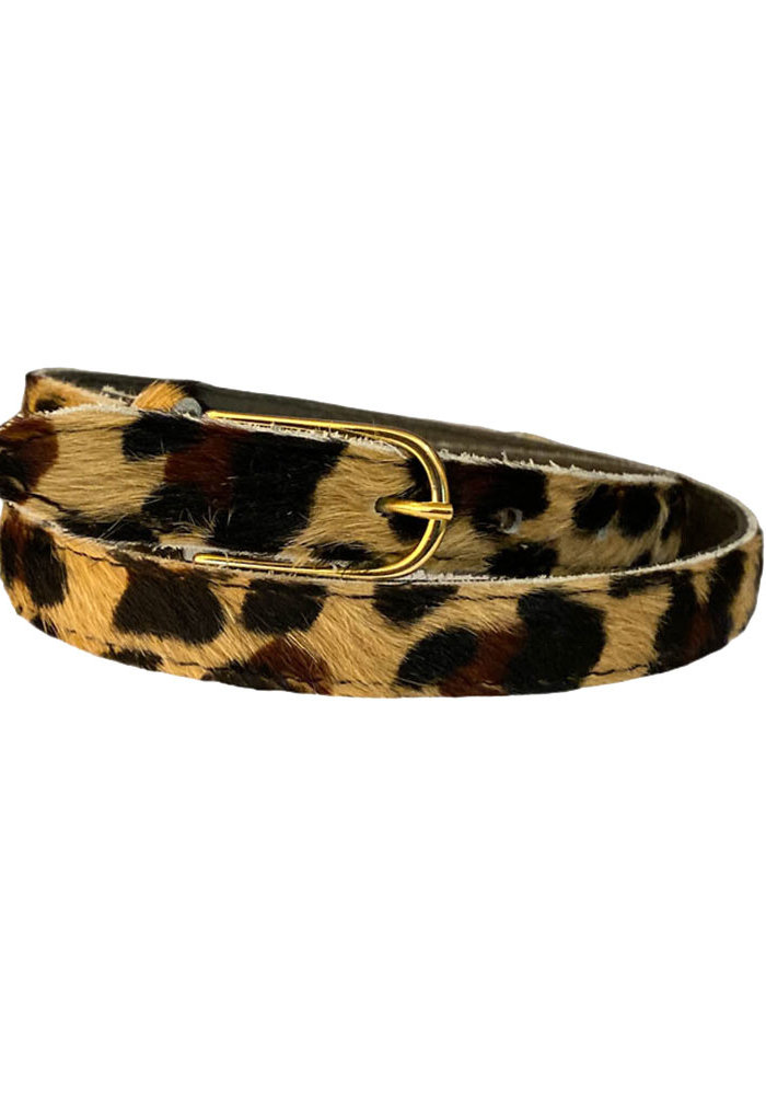 Belt - Leopard Skin Small