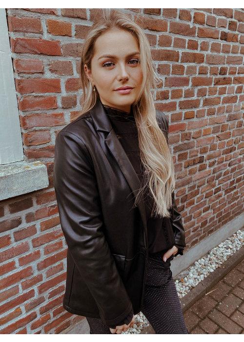 Things I Like Things I Love - Jacky Leather Blazer