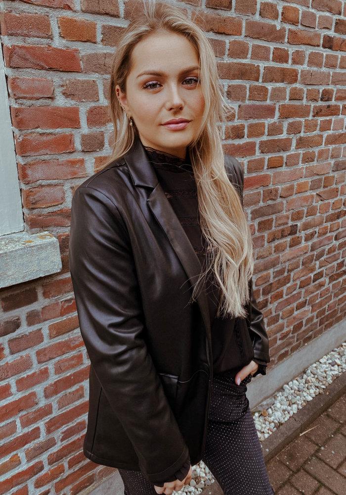 TilTil - Jacky Leather Blazer