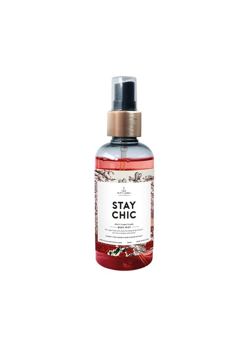 Gift Label - Body Mist Stay Chique