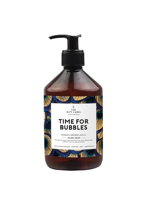 Gift Label - Handsoap Time for Bubbles 500ML