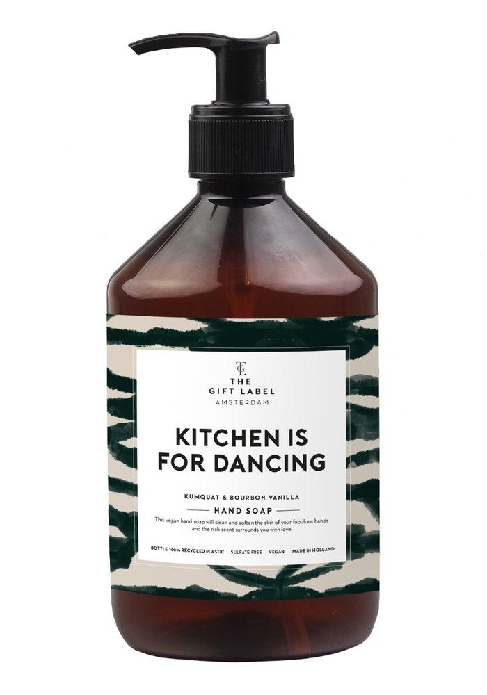 Gift Label - Handsoap Kitchen is for dancing  500ML