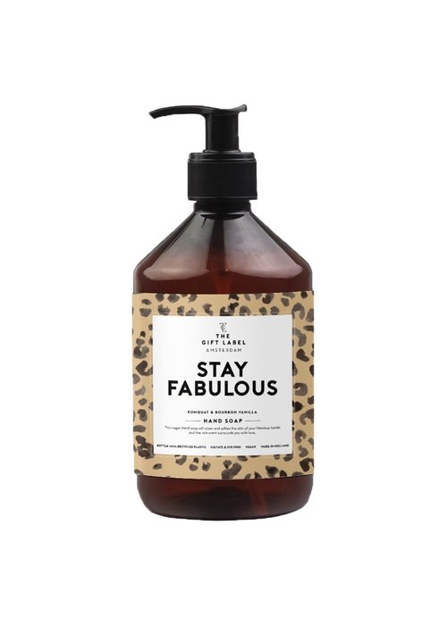 Gift Label - Handsoap Stay Fabulous  500ML