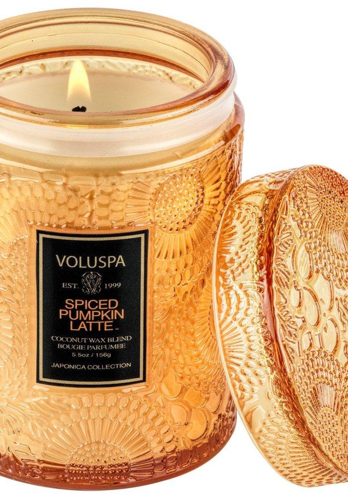 Voluspa - Spiced Pumpkin Latte Mini Jar Candle