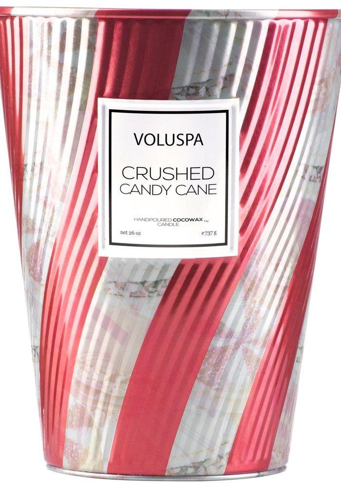 Voluspa - Crushed Candy Cane Giant Ice Cream Cone