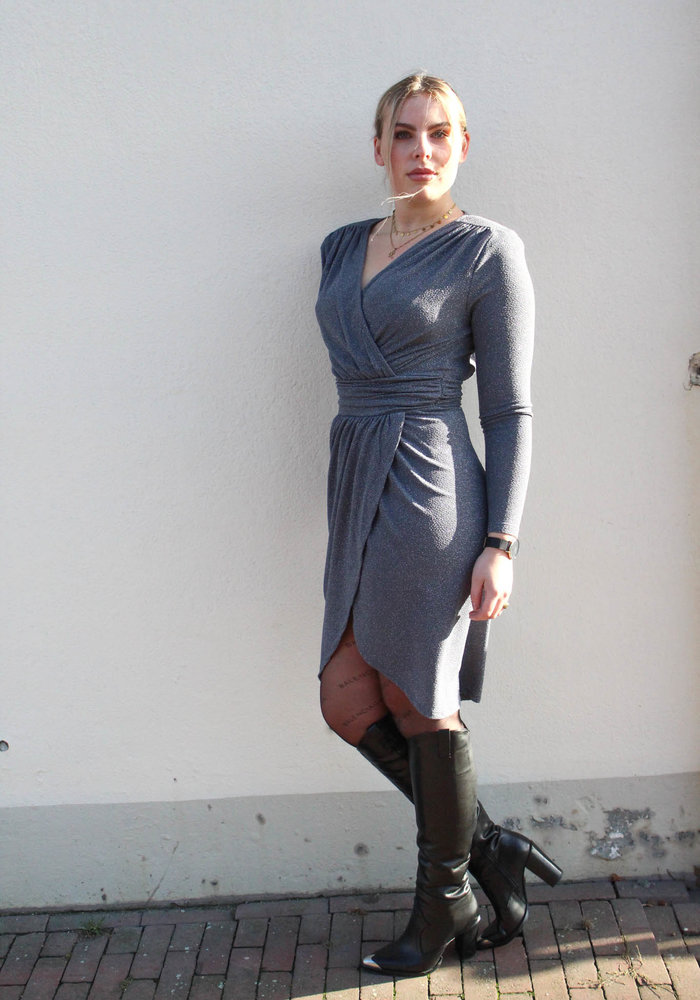 MOVES - ISANNA DRESS Grey