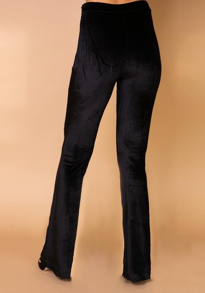 Body by Olcay - Velvet Legging Black