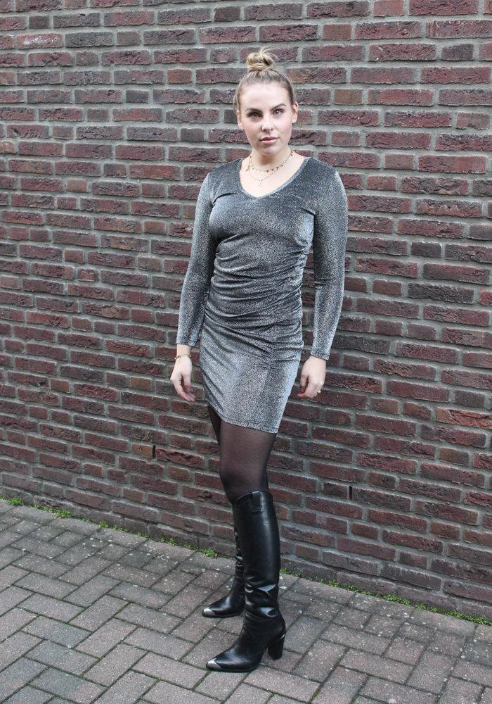 MOVES - VEALA DRESS Dark Silver
