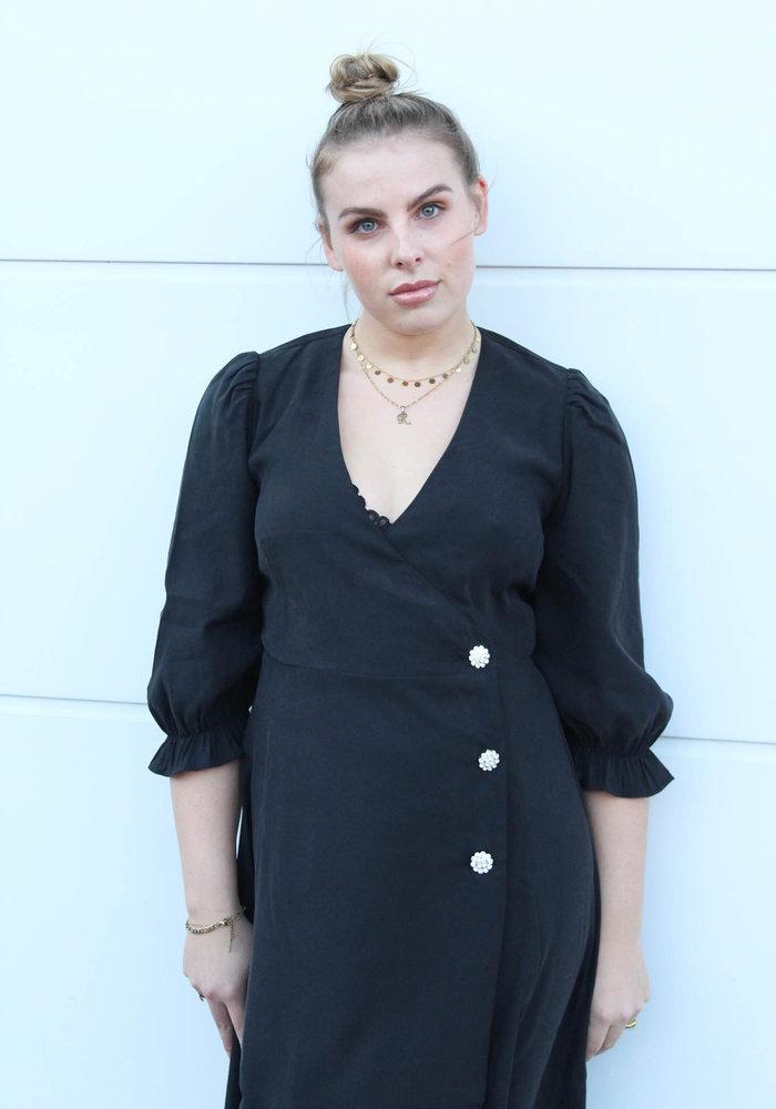 MOVES - MAMOS DRESS Black