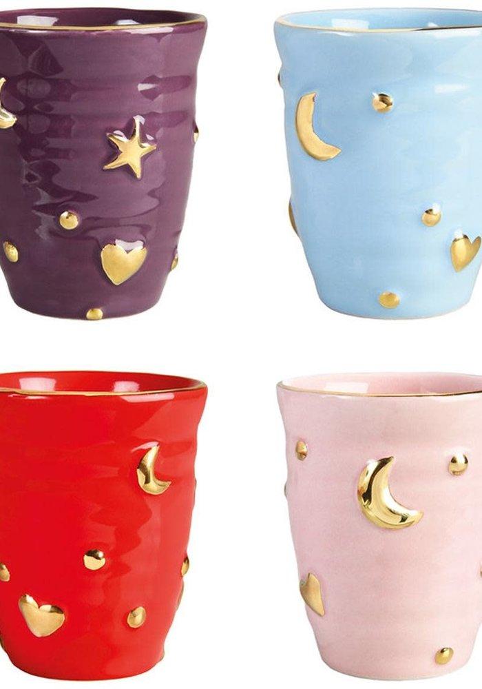 &Klevering - Mug Anouk universe set of 4