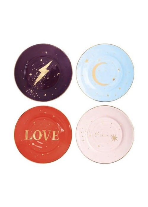 &Klevering - Plate Anouk universe set of 4