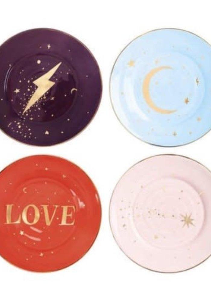 &Klevering - Plate Anouk universe set of 4