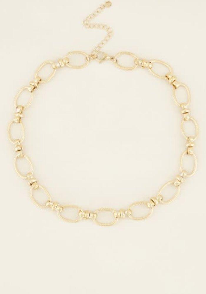 My Jewellery - Ketting grove ovale schakels