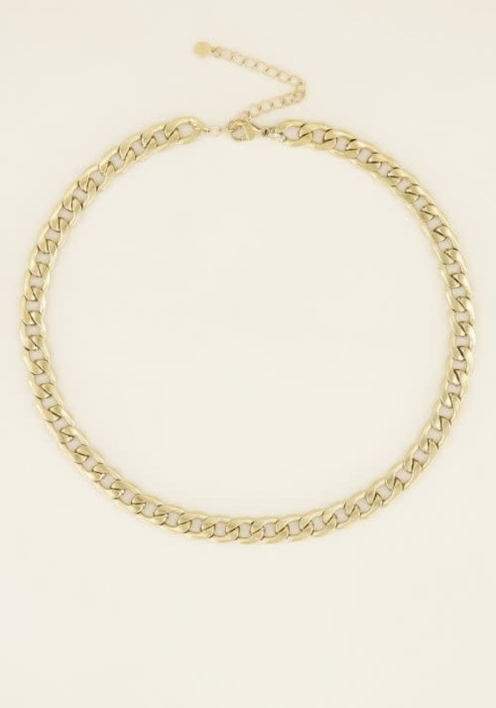 My Jewellery - Ketting met platte schakels