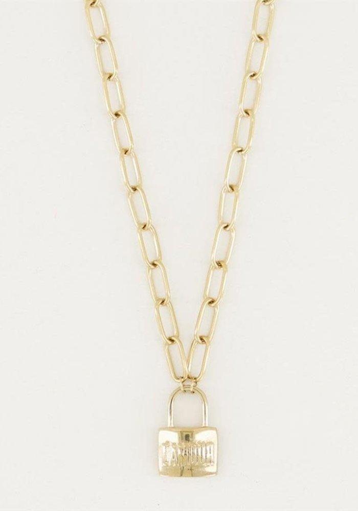 My Jewellery - Ketting met slot Amour