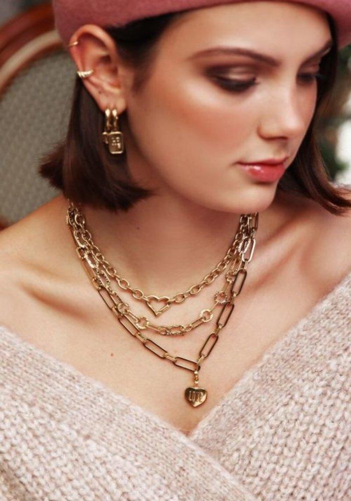 My Jewellery - Schakelketting met hartjes