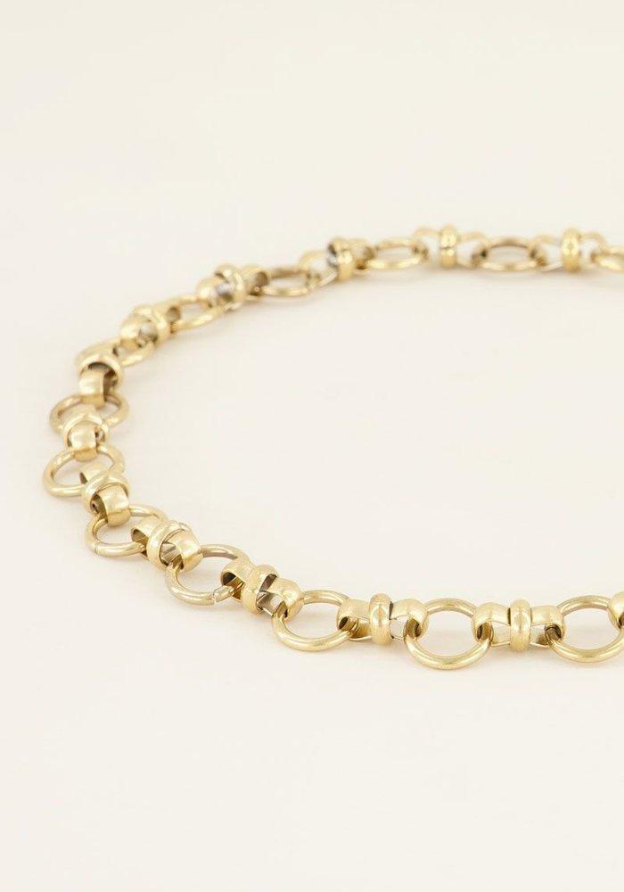 My Jewellery - Ketting ronde schakels