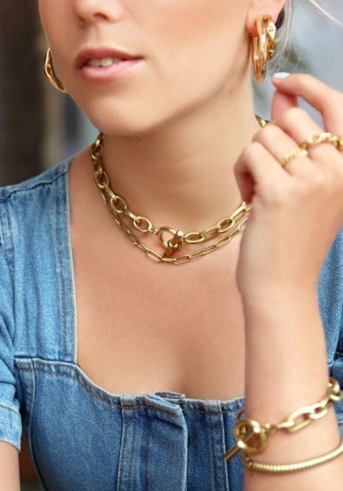 My Jewellery - Schakelketting kapittelslot