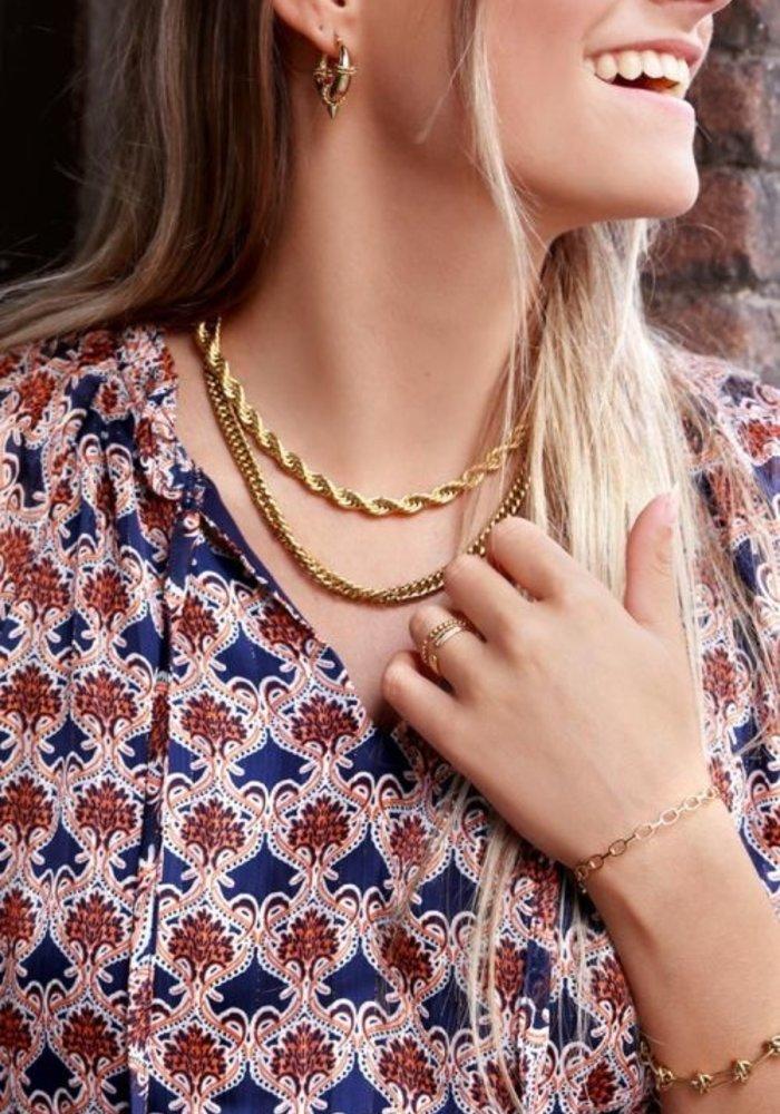 My Jewellery - Ketting gedraaide schakels
