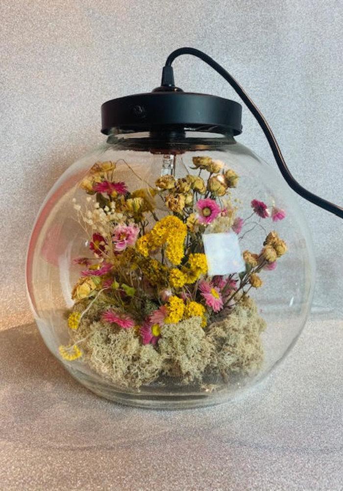Ratatouille - Lamp droogbloemen groot 2