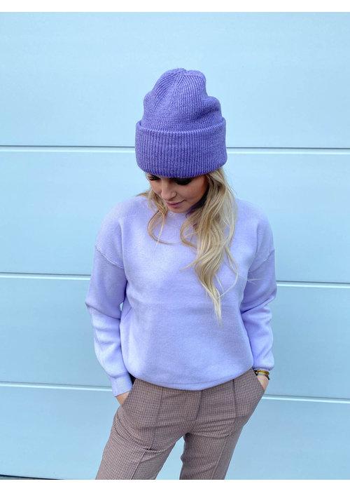 Things I Like Things I Love - Sammy Knit Lilac