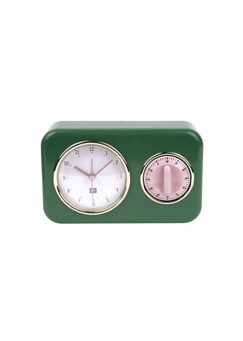 Ratatouille Ratatouille - Clock Kitchen time nostalgia Green