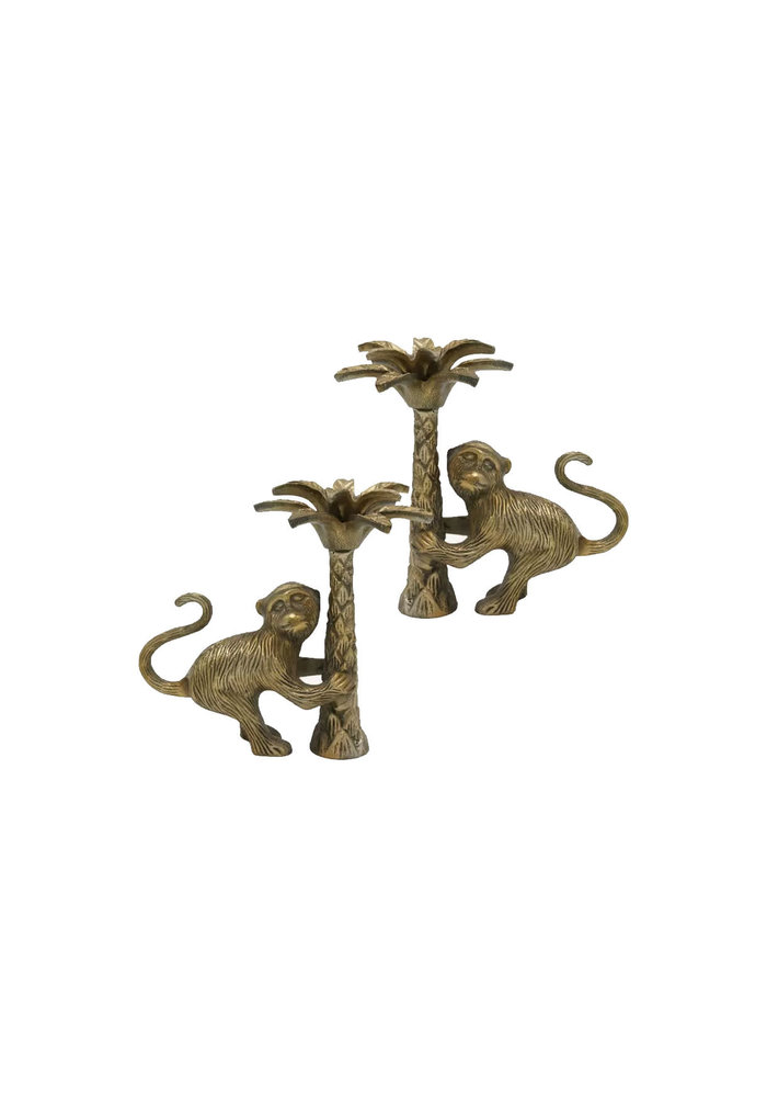 Doing Goods - Macy Monkey Candle Holder