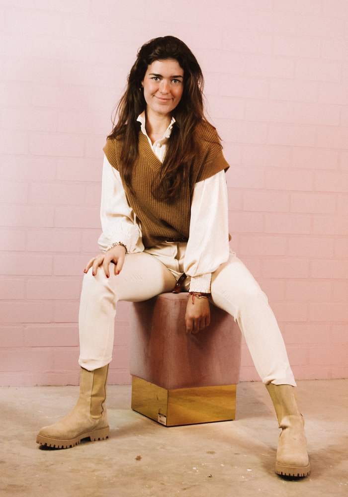 Ichi - Lexi Pantalon Cream
