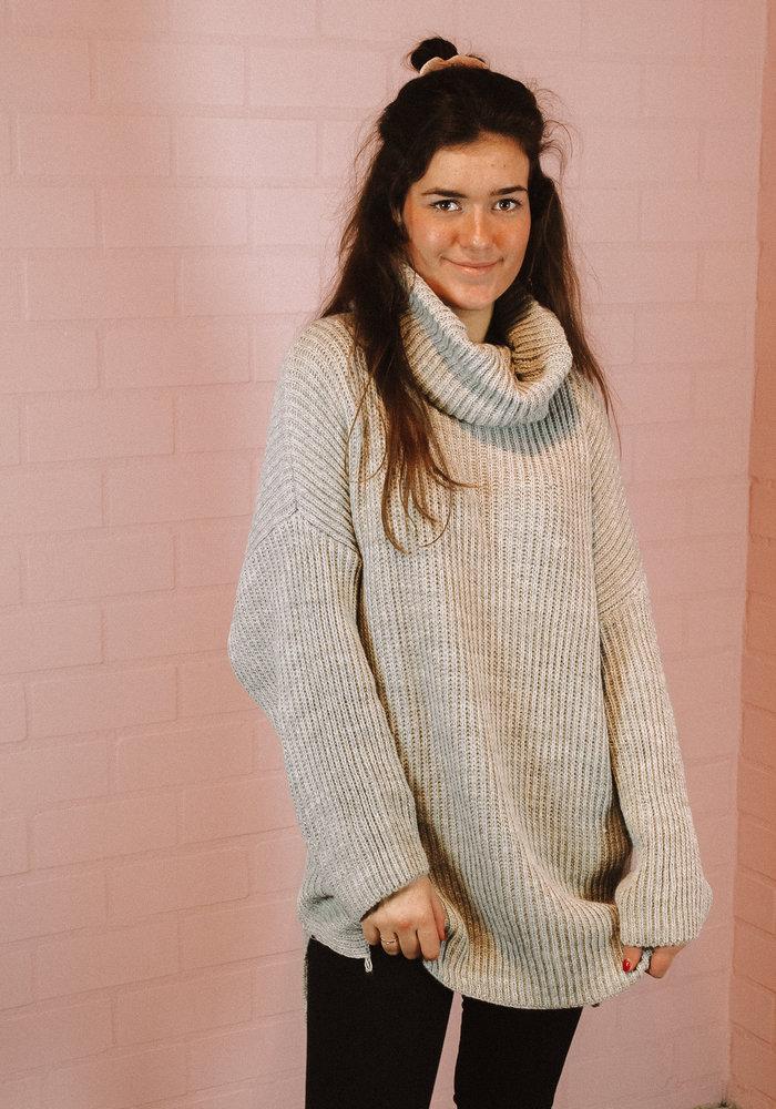 Ratatouille - Leila Knit Grey