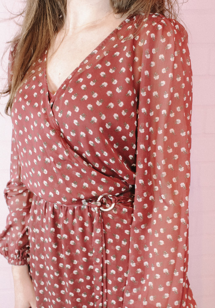 Harper & Yve - Rika Dress Long Purple