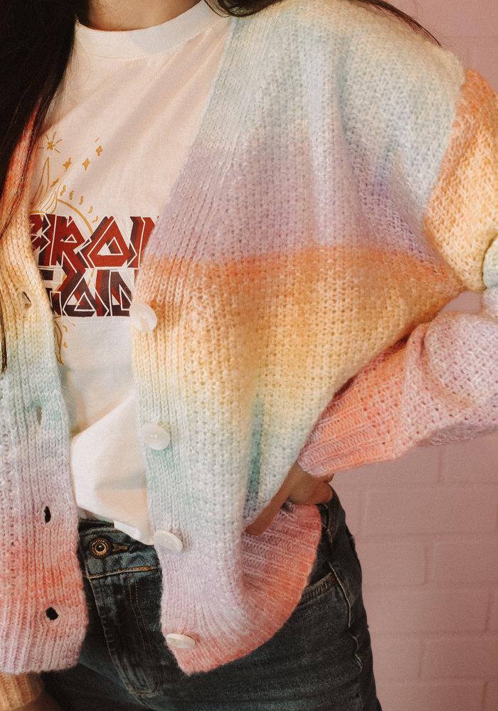 Ratatouille - Multicolour Cardigan