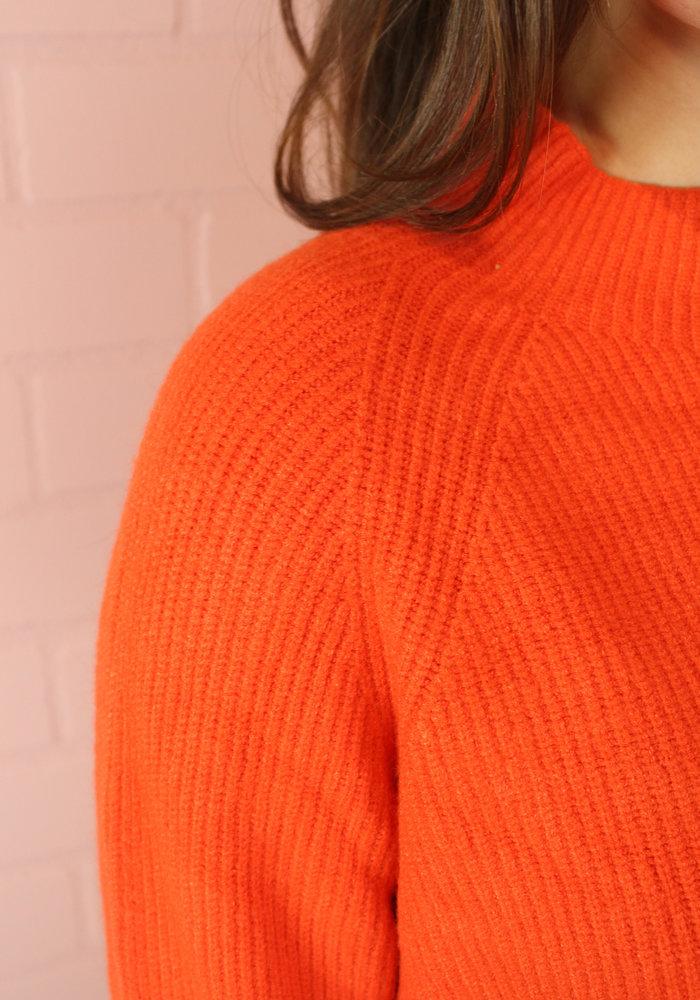 Ratatouille - Orange Knit