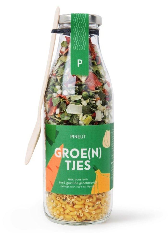 Pineut - soep groente