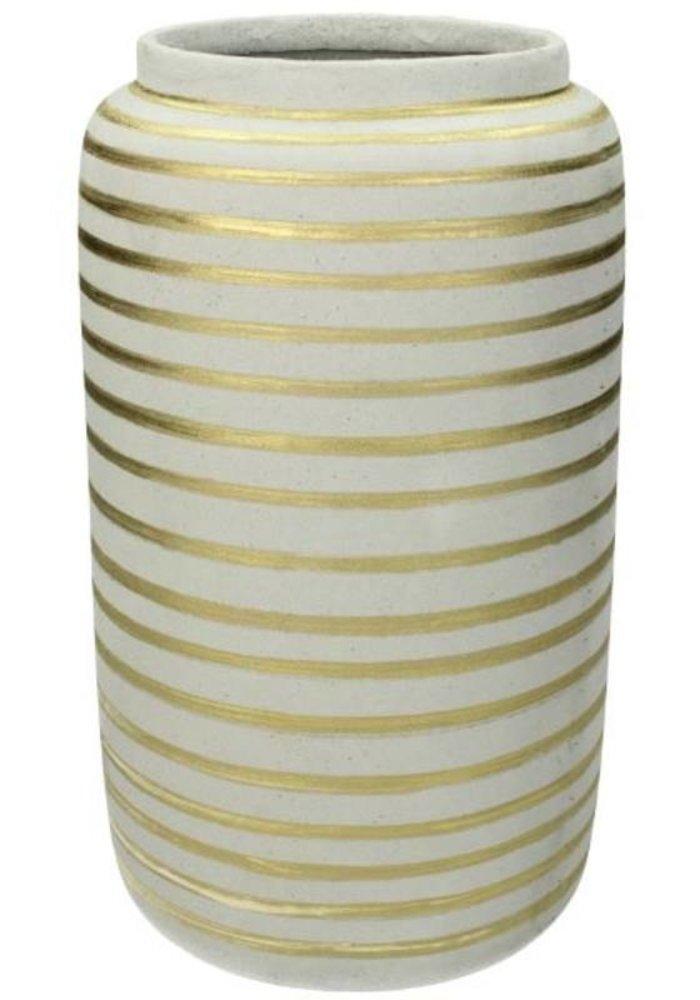 Ratatouille - Vase Fine Earthenware Gold