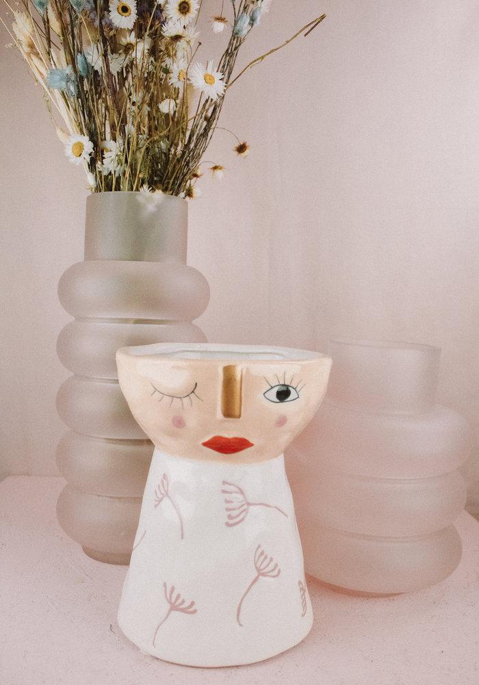 & Klevering - Vase plump blush small
