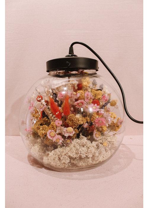 Ratatouille Droogbloemen lamp - XL
