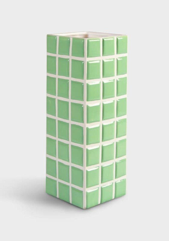 &Klevering - Vase Tile Mint