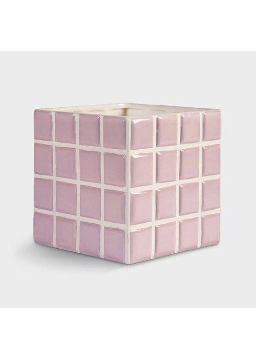 &Klevering - Planter Tile Lilac