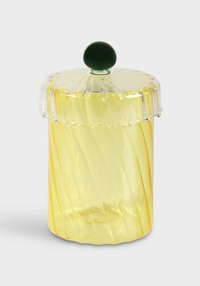 &Klevering - Jar Spiral Yellow