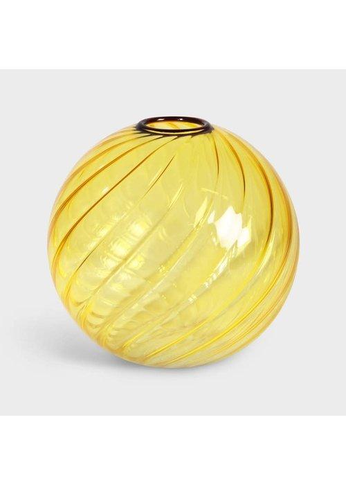 &Klevering - Vase Spiral yellow
