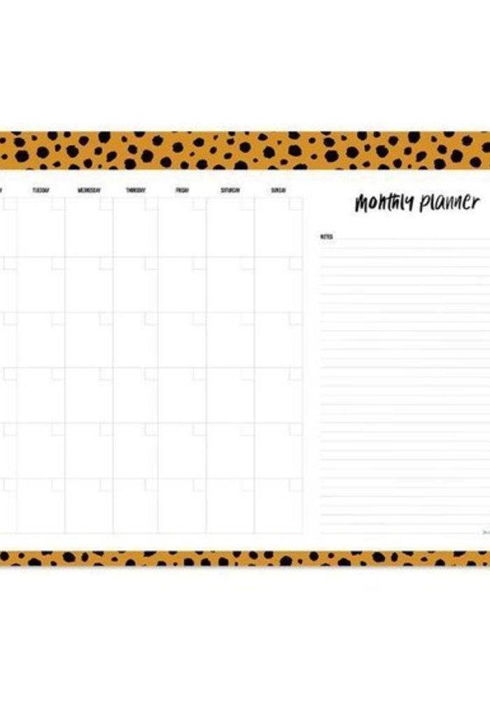 Ratatouille - Monthly Planner Cheetah