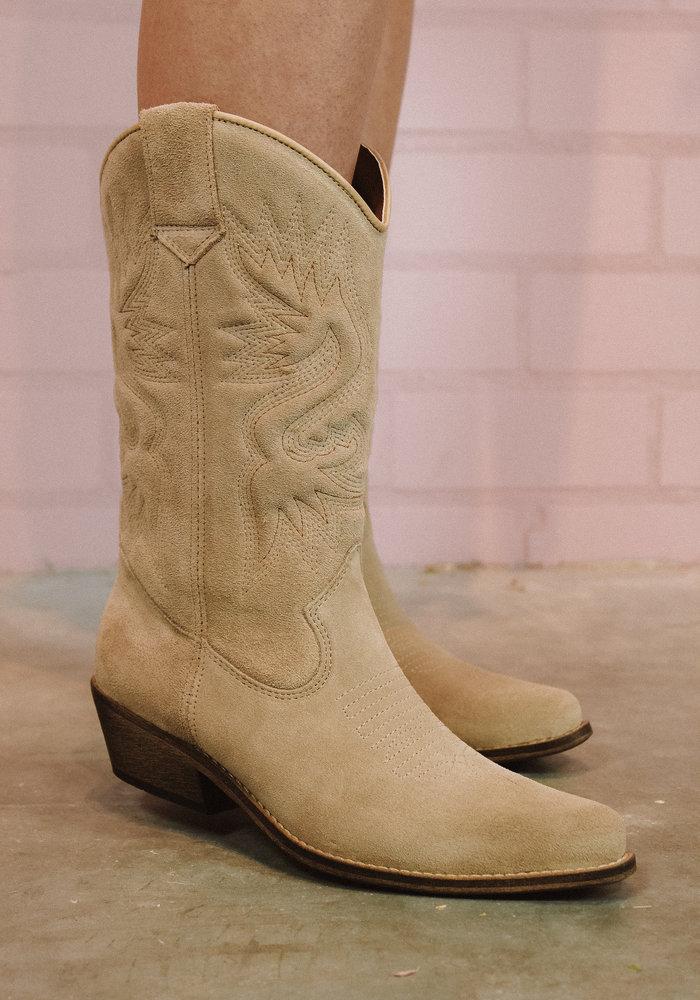 DWRS - High Texas Triple Stitching Beige